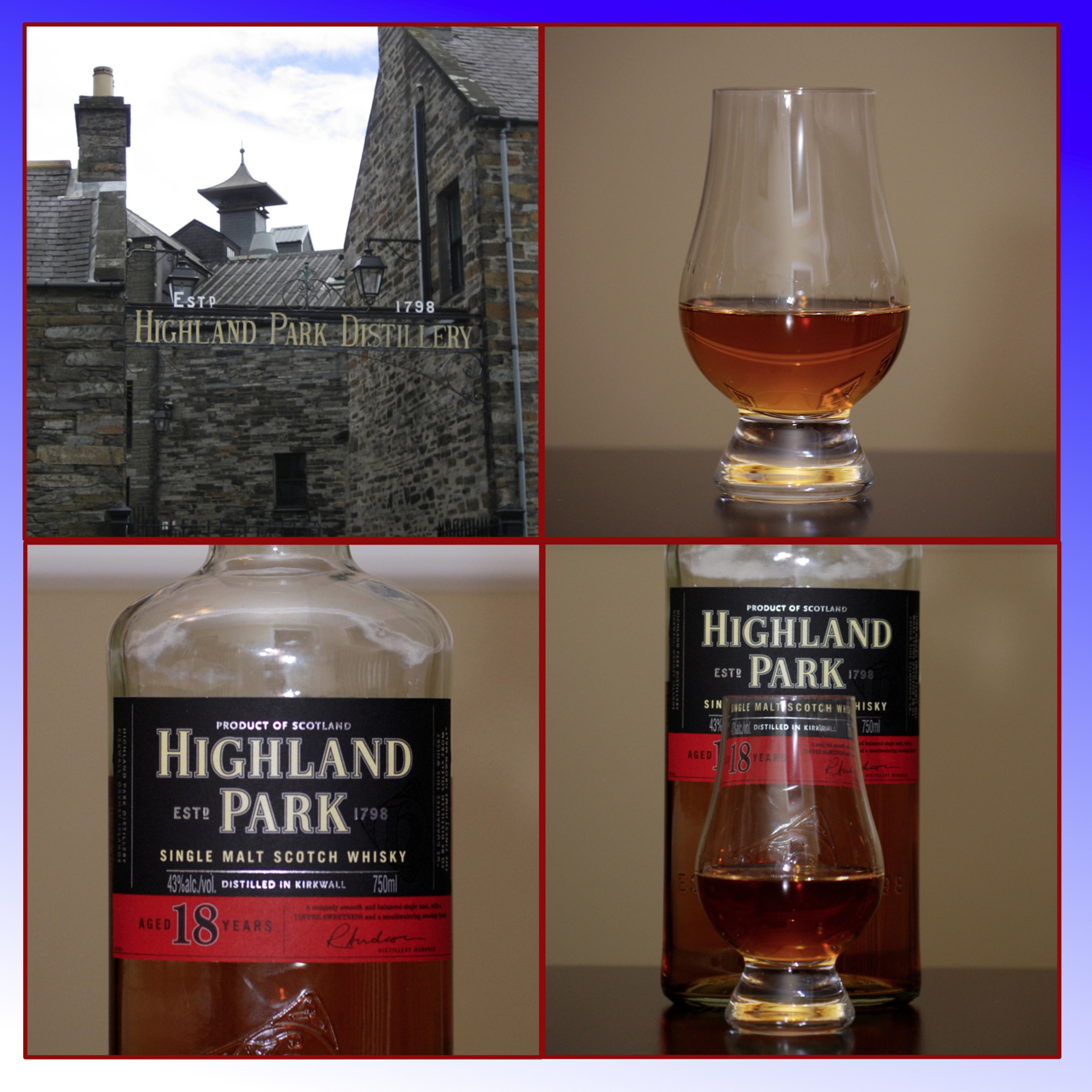 Whisky Review – Highland Park 18 – It\'s just the booze dancing…