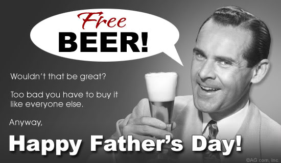 Happy Fathers Day Its Just The Booze Dancing