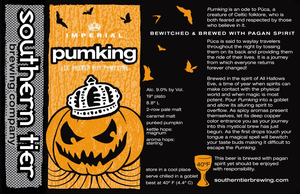 Beer Review - Southern Tier Pumking Imperial Pumpkin Ale (1/2)