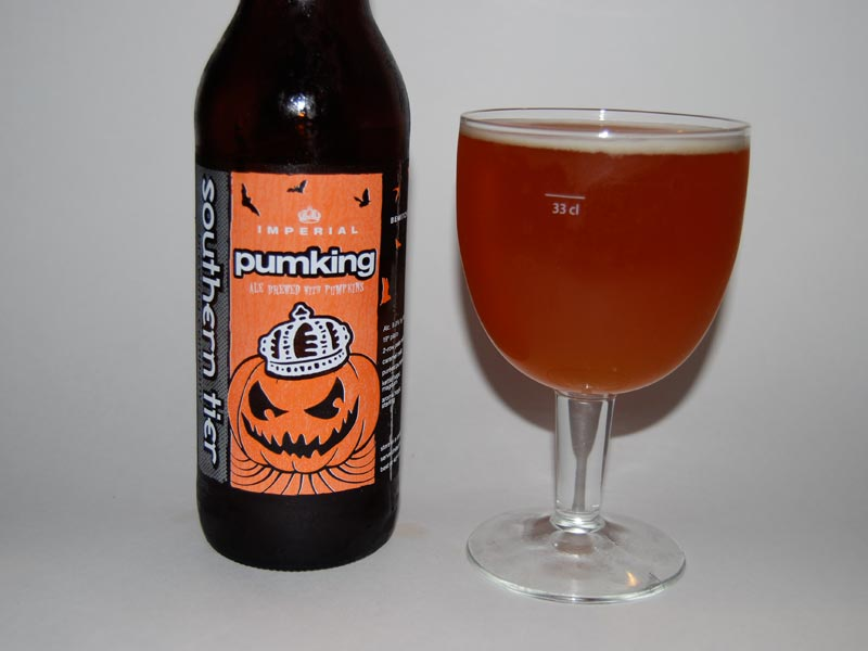 Beer Review - Southern Tier Pumking Imperial Pumpkin Ale (2/2)