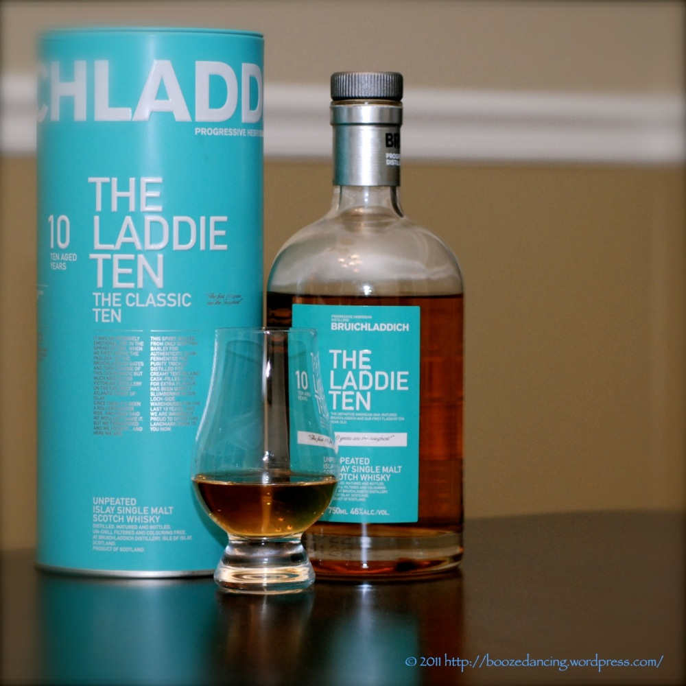 Whisky Review - Bruichladdich 10 Year Old aka The Laddie Ten
