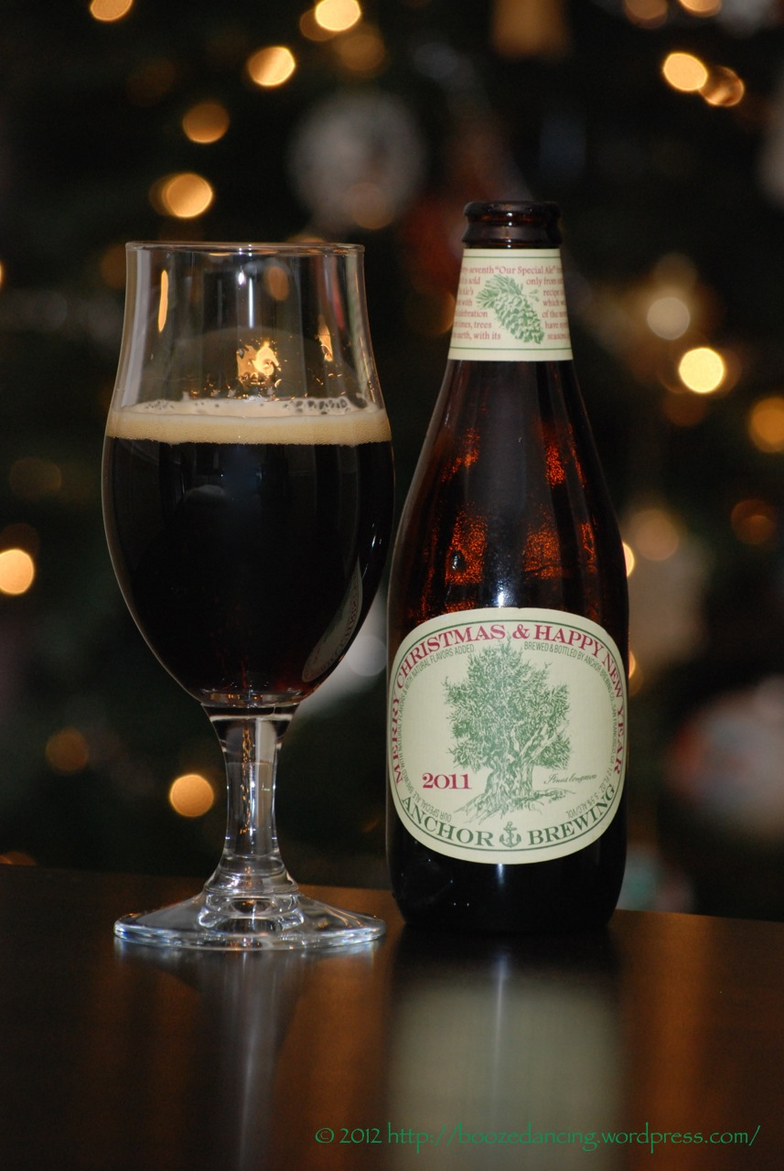 2011 marked the release of the 37th edition of anchor brewings christmas ale although i have only had - Anchor Brewing Christmas Ale