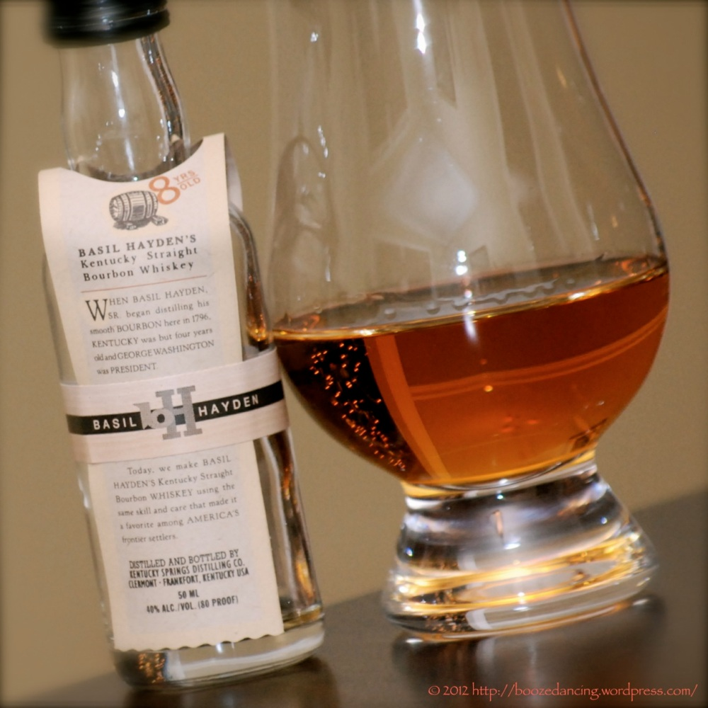 Whiskey Review - Basil Hayden's 8 Year Old Kentucky Straight Bourbon Whiskey