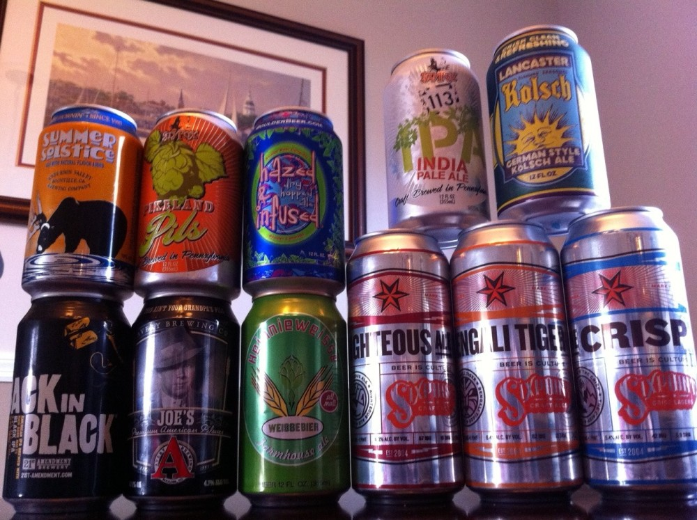Show Us Your Cans! Take Our Canned Craft Beer Poll