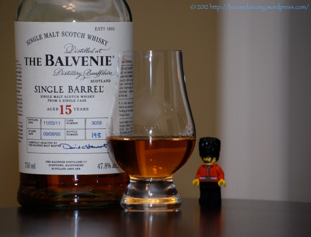 Whisky Review - The Balvenie Single Barrel 15 Year Old