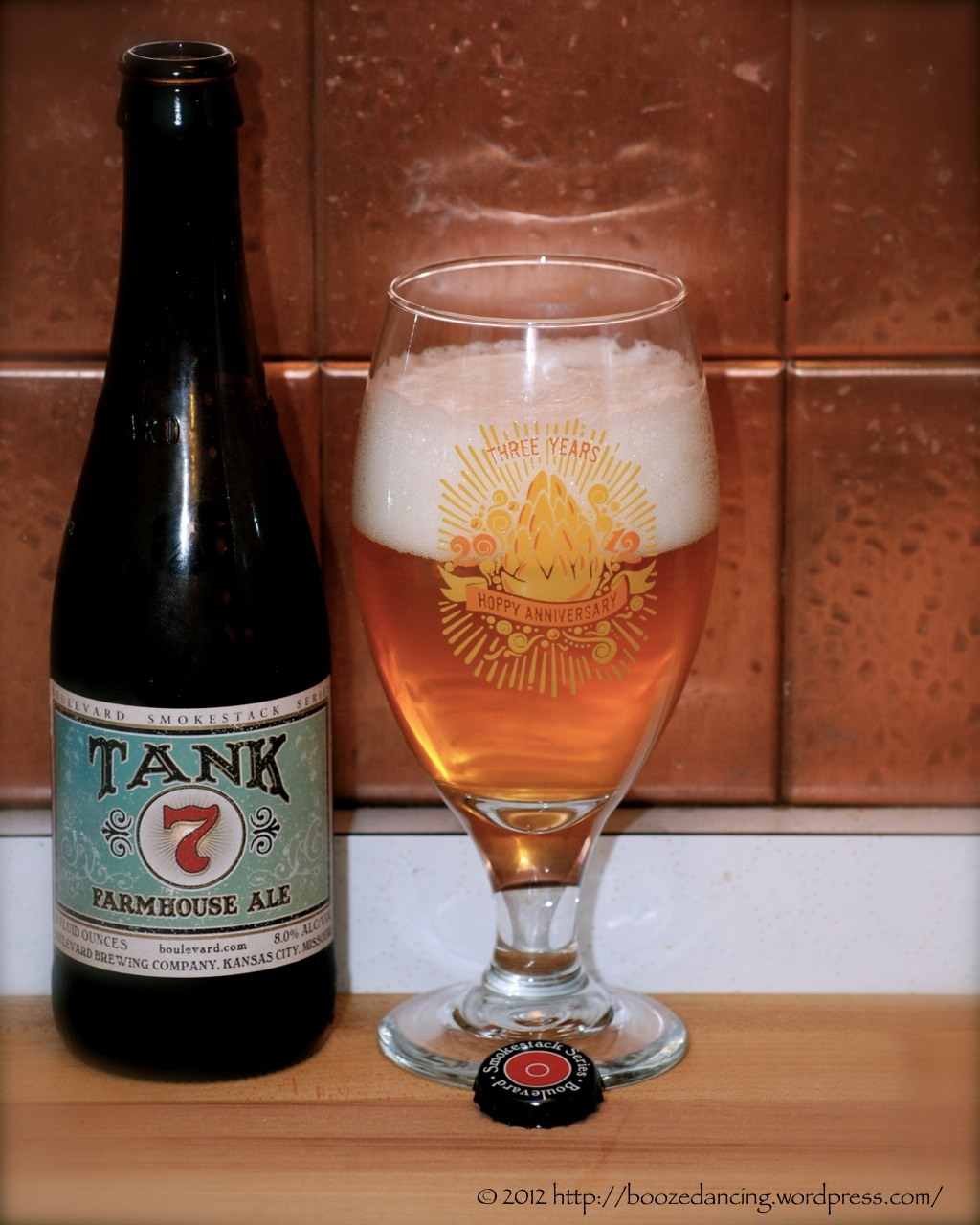 Beer Review Version 2 – Boulevard Brewing Tank 7 Farmhouse Ale
