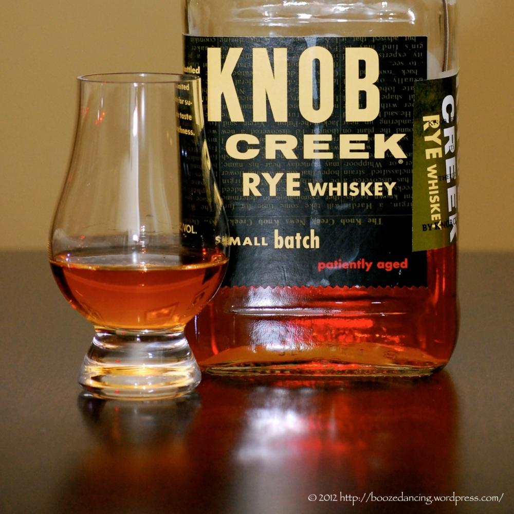 Whiskey Review - Knob Creek Rye Whiskey