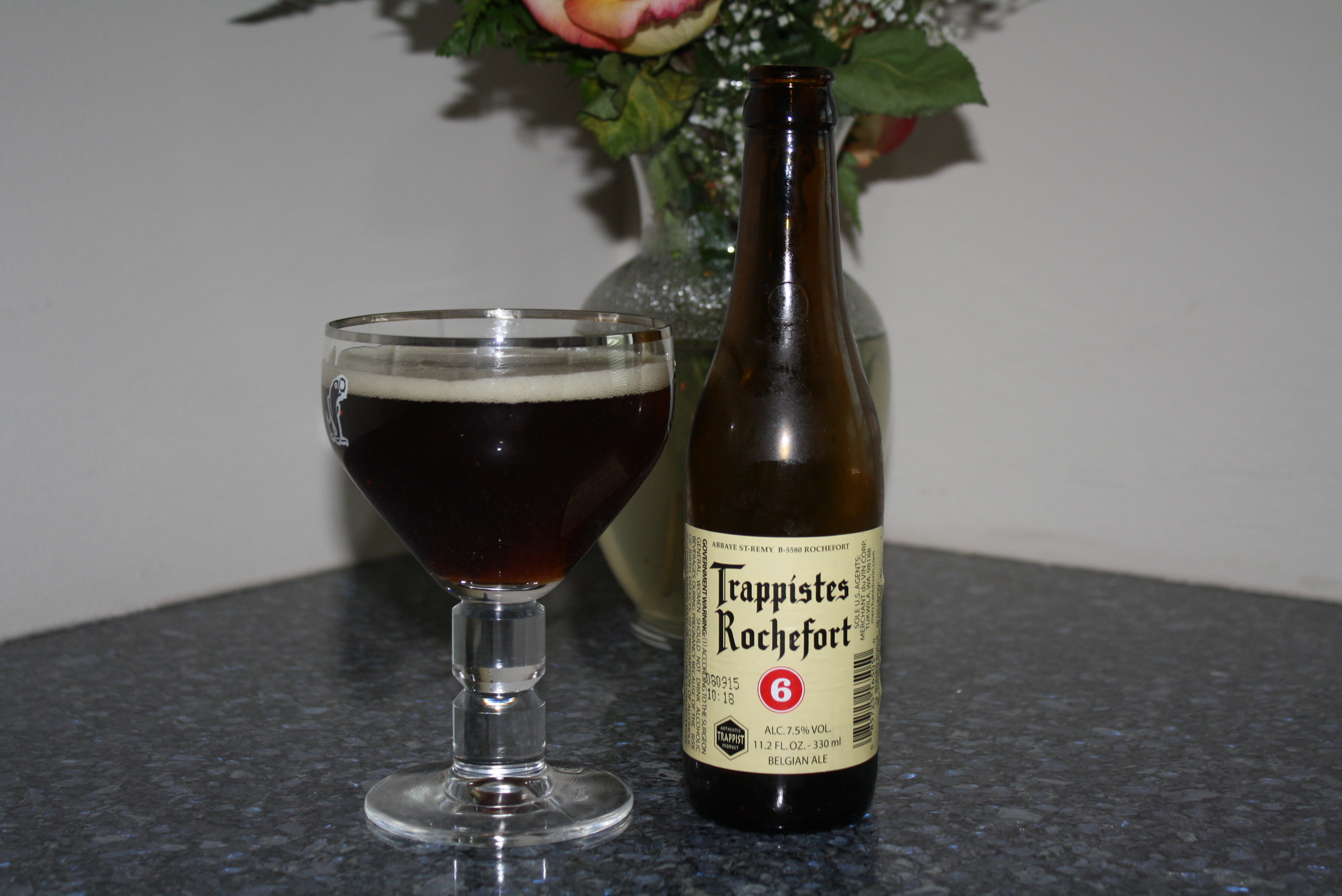 Beer Review – Trappistes Rochefort 6 – It's just the booze ...