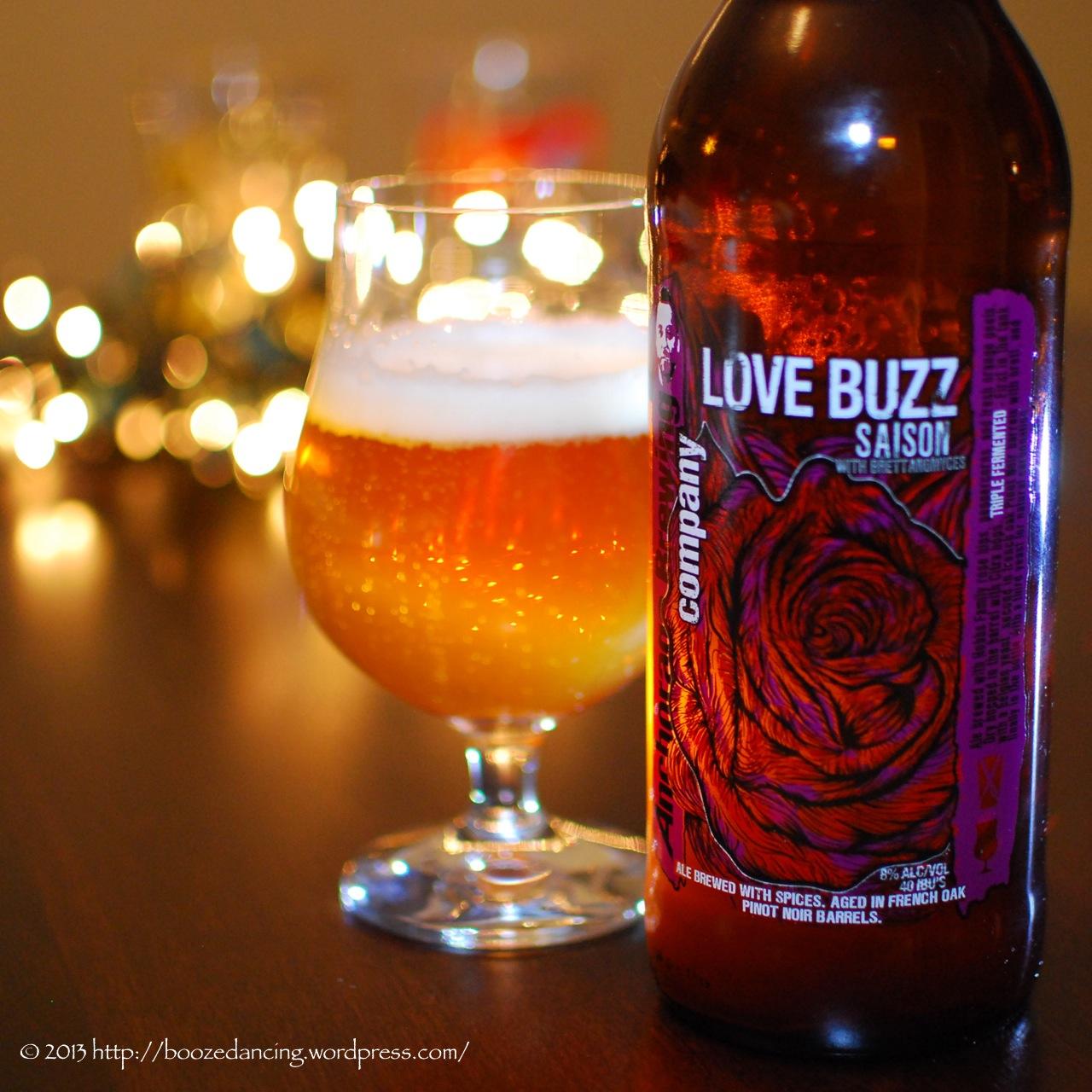 anchorage brewing co love buzz saison