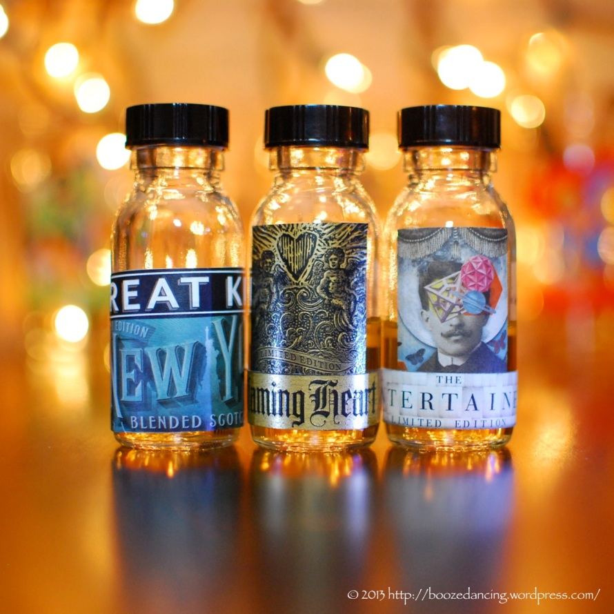 Compass Box Trio of Samples