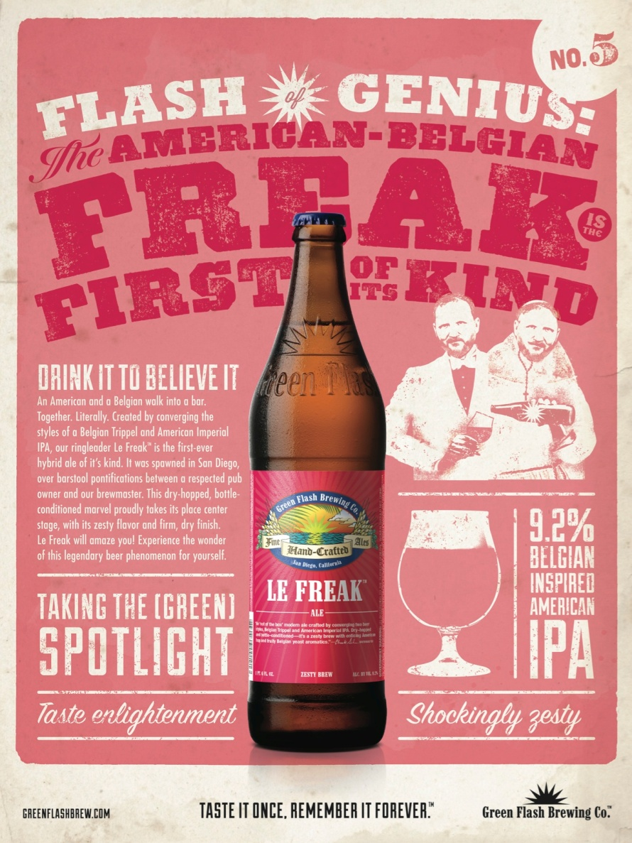 Green Flash Le Freak Info
