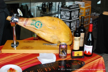 Spanish Cured Ham Tease courtesy of Bar Ferdinand