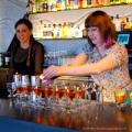 Bess Gulliver making her Jazz Baby Cocktail