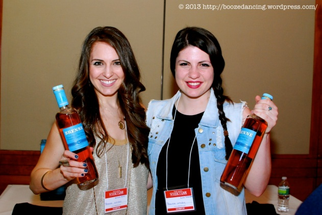 THE Whisky Woman (Allison Patel) and Rose Robinson of Brenne