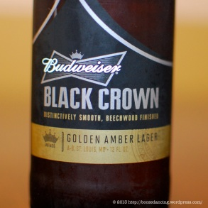 Black Crown - Front Label