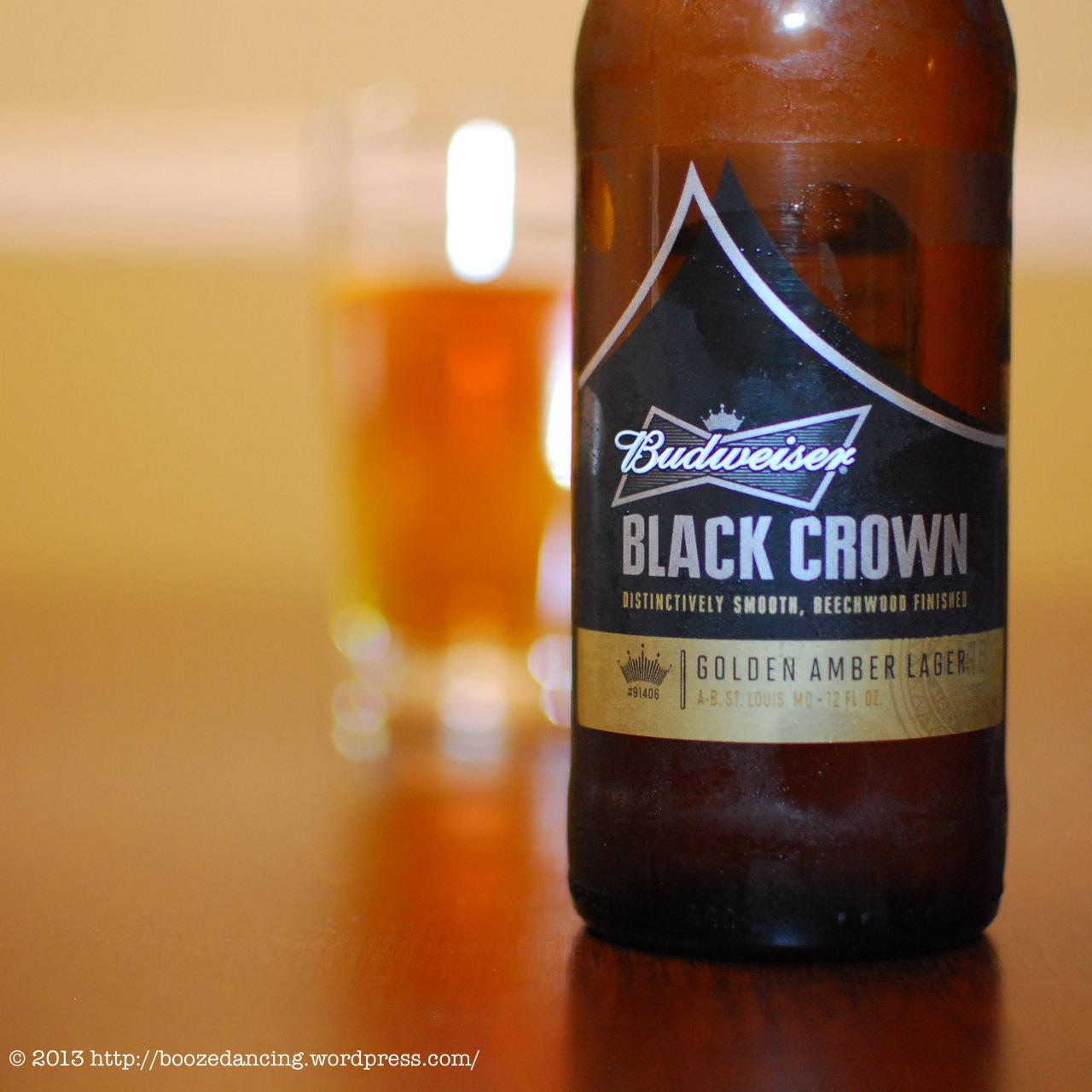Beer Review – Budweiser Black Crown