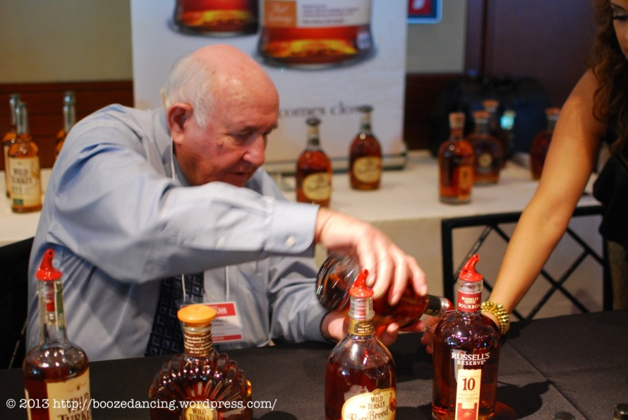 The great Jimmy Russell of Wild Turkey
