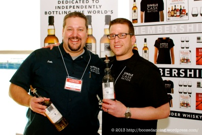 Two of the brilliant guys behind the Jewish Whisky Company and Single Cask Nation