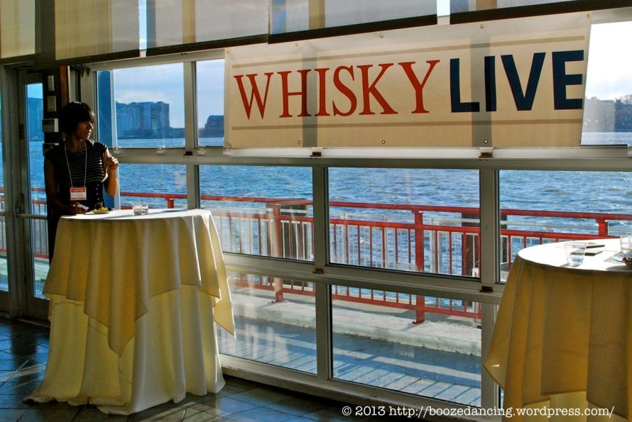 WhiskyLive - Hudson River View