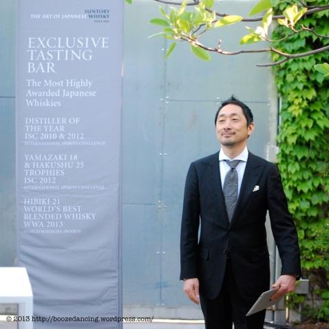 Toshi Kumakura, CEO of Suntory USA