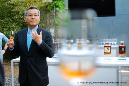Mike Miyamoto, Suntory Global Brand Ambasador