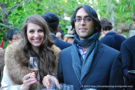 Allison and Nital Patel