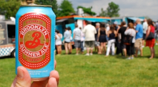 A light and refreshing Brooklyn Summer Ale