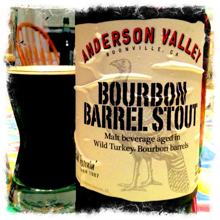 Anderson Valley Bourbon Valley Stout