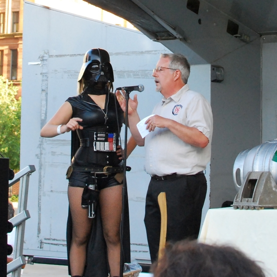 Darth Vaderess and Don Russell.