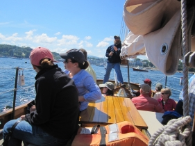 An afternoon sail aboard the Schooner Olad