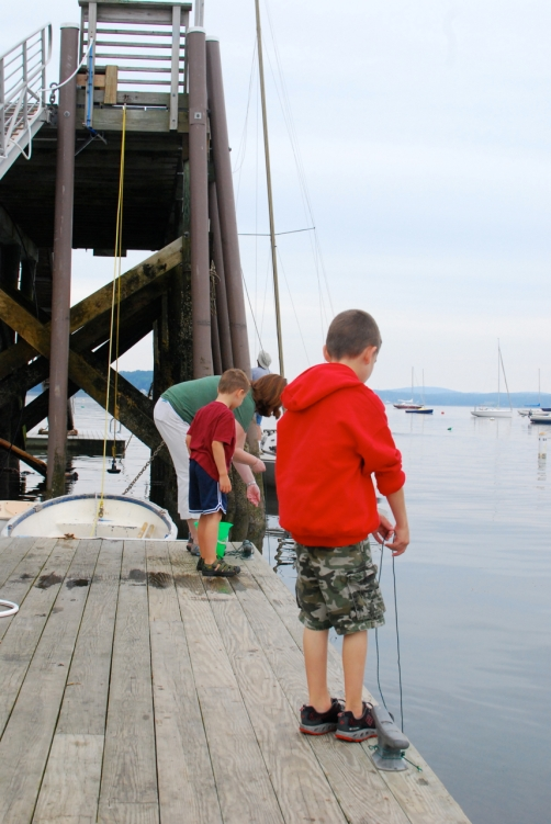 Crabbing!