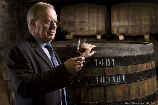 David Stewart and The Balvenie Tun 1401