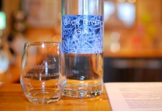 Back River Gin at Sweetgrass Farm Winery and Distillery in Union , ME.
