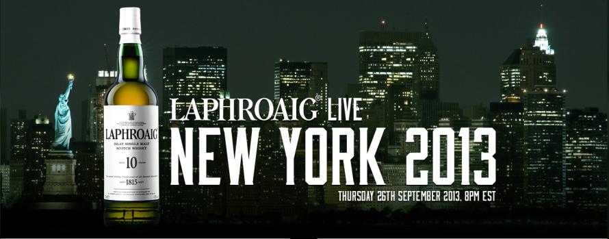 Laphroaig Live 2013