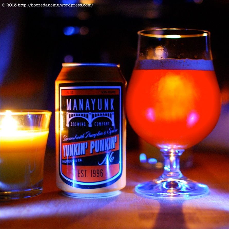 Manayunk Brewing Co Yunkin' Punkin'