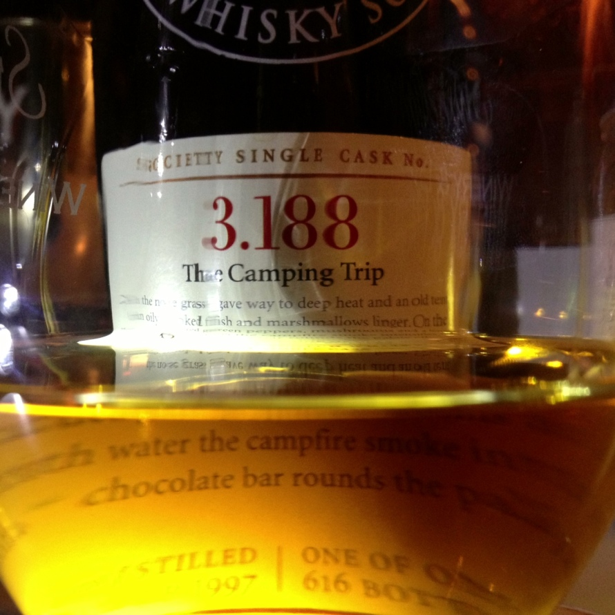 SMWS Cask 3.188, The Camping Trip