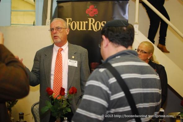 Jim Rutledge of Four Roses