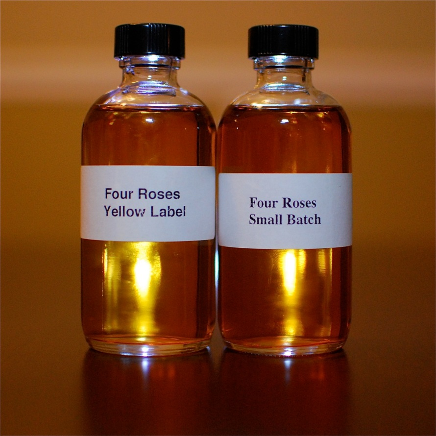 Four Roses Yellow Label and Small Batch Bourbons