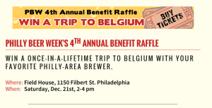 Philly Beer Week Raffle