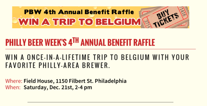 Philly Beer Week Raffle