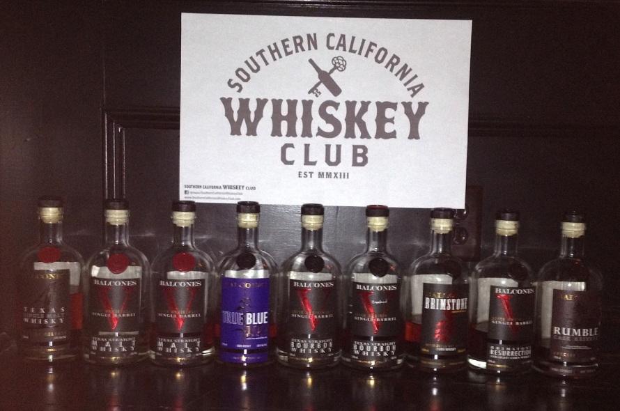 Balcones Whisky Tasting