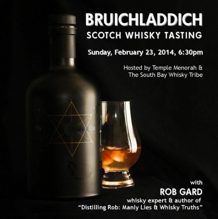 Bruichladdich Tasting with Whisky Guy Rob