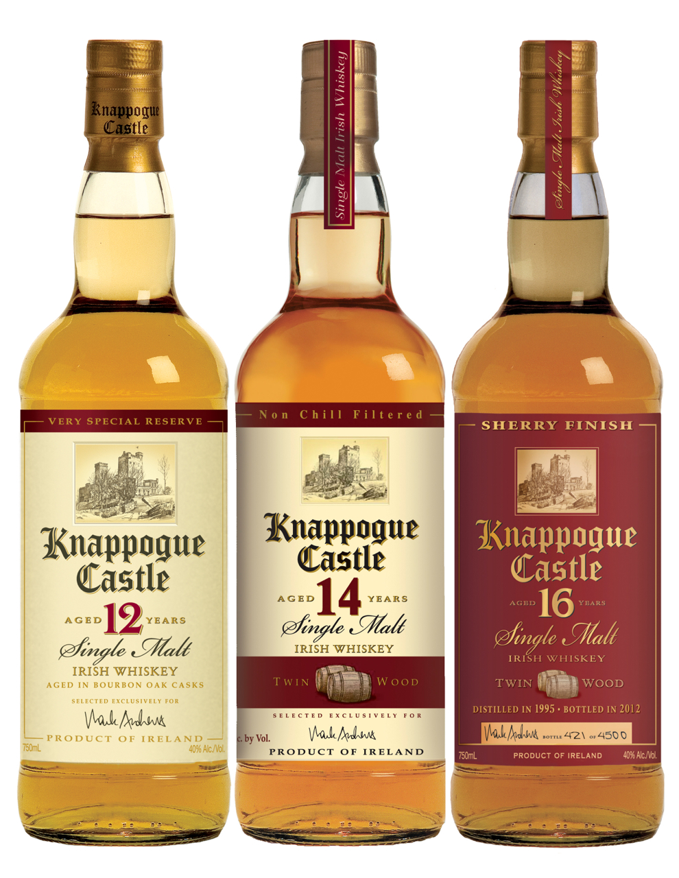 Irish Whiskey Review – A Trio of Knappogue Castle Expressions – It\'s ...