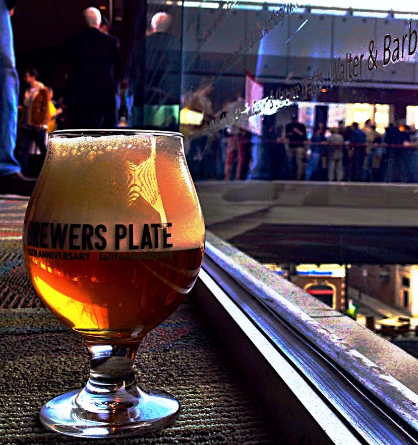 Reflections of Brewers Plate