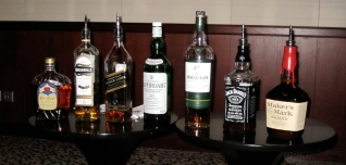 A not at all exclusive whisky tasting.