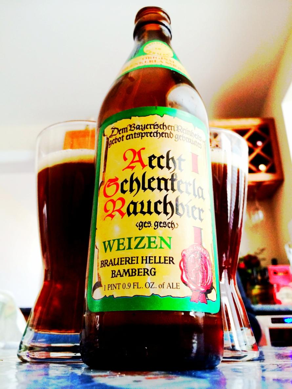 Aecht Schlenferla Rauchbier - Weizen