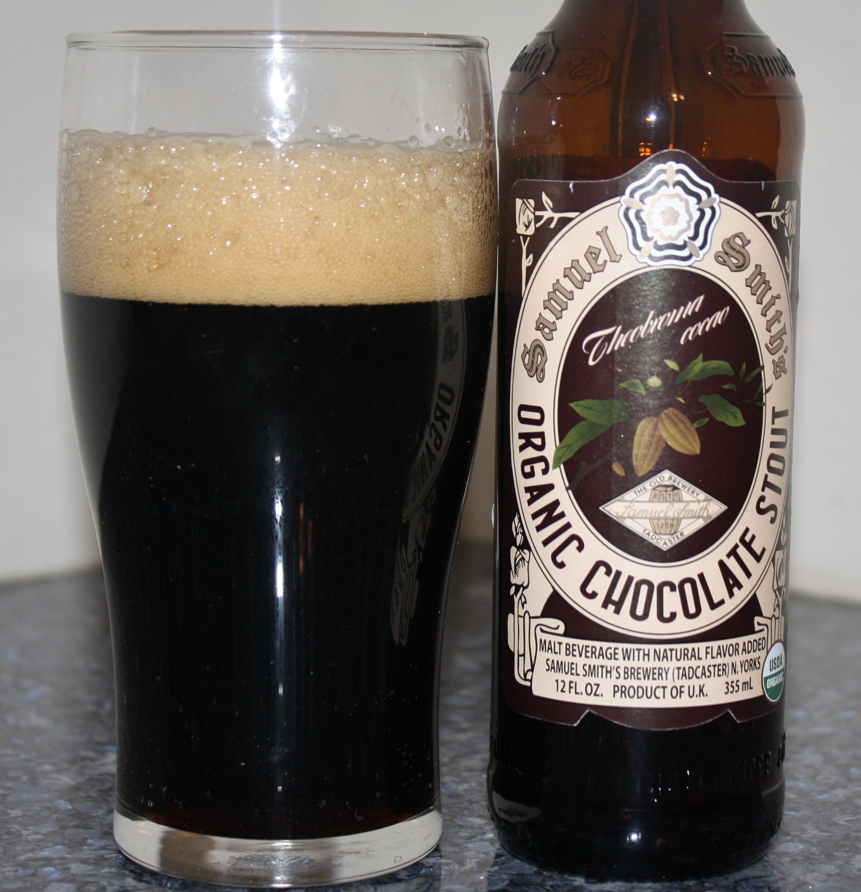 Beer Review – Samuel Smith Organic Chocolate Stout – It's just the ...