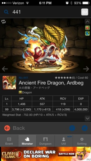 Ancient Fire Dragon, Ardbeg