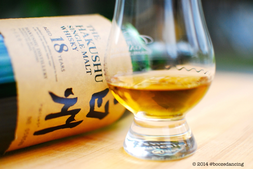 Hakushu 18 in the Glass