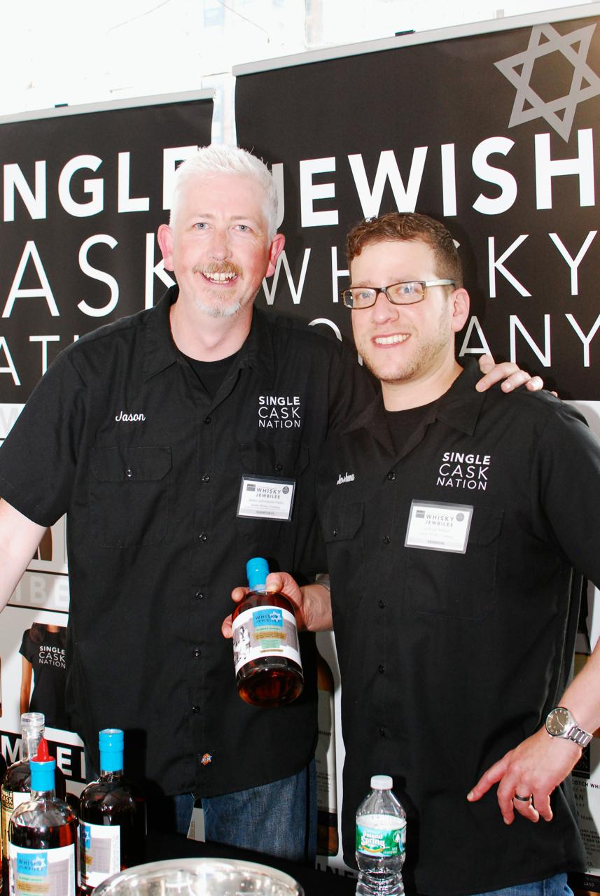 Jason and Joshua of the Jewish Whisky Company